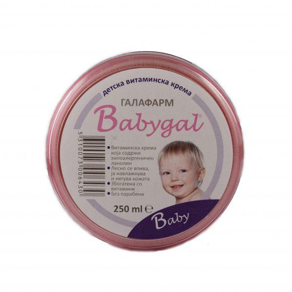 Babygal cream 250 ml