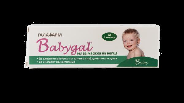 Babygal teething gel
